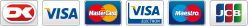 Her kan du betale med følgende kort under PCI sikkerhed. Klik på iconer herunder for at læse mere om PCI Sikkerhed